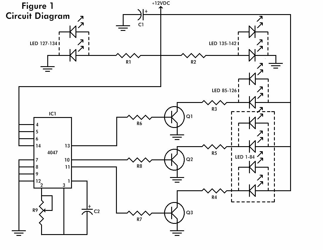 the flashing heart circuit diagrams schematics electronic projects rh diy electronic projects com Inverter 12 Volt Wiring Diagram 3000W Inverter Wiring Diagram